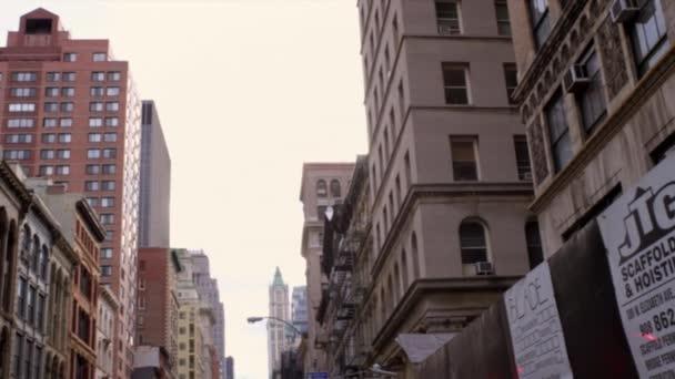 older looking buildings in NYC