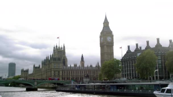 Westminster palace and Westminster bridge in London