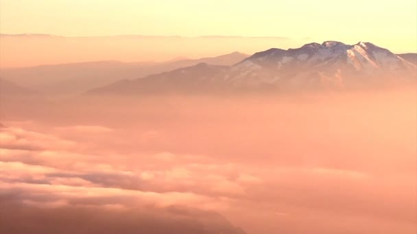 Rocky mountain peaks in Utah
