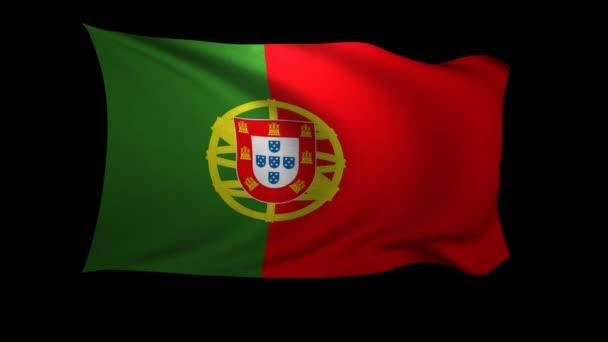 Portugália integetett a szél zászlaja