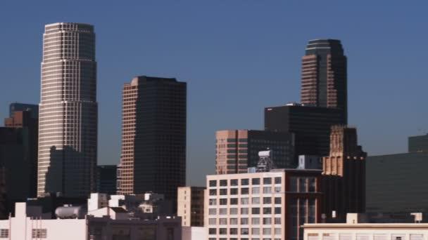 Skyline of Los Angeles in California