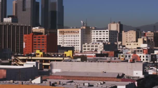 Panoráma města z Los Angeles v Kalifornii.