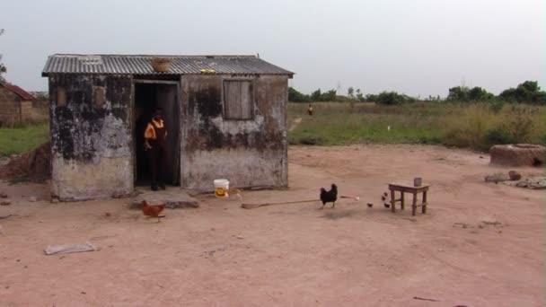 Africké rodiny mimo jejich domov