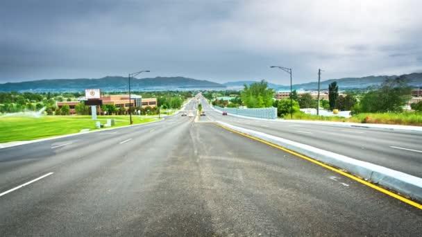 provoz na dálnici v Utahu