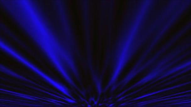 Brilantní indigo polární záře pruh proti inkoustově nebe