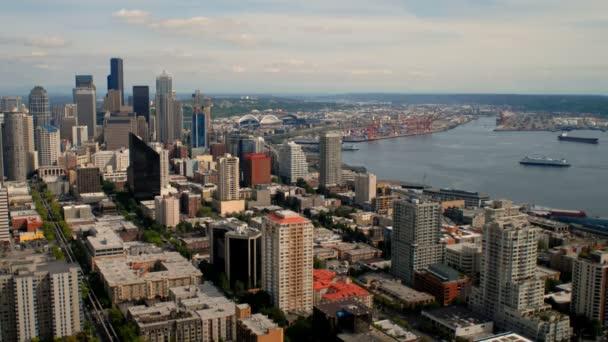 Time-Lapse na panorama města a přístav