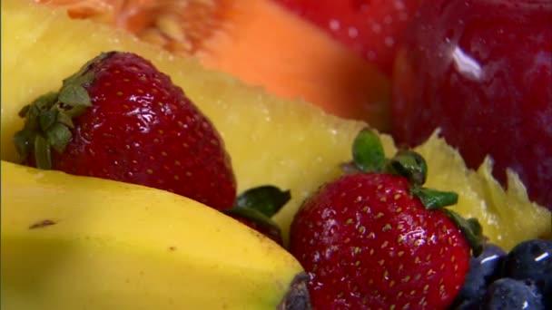 sortiment ovoce rotačních