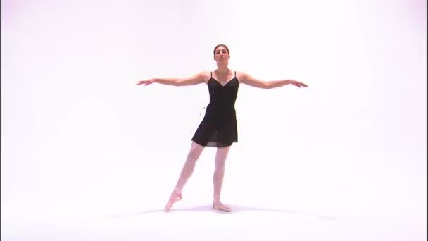 Aufnahme einer tanzenden Ballerina