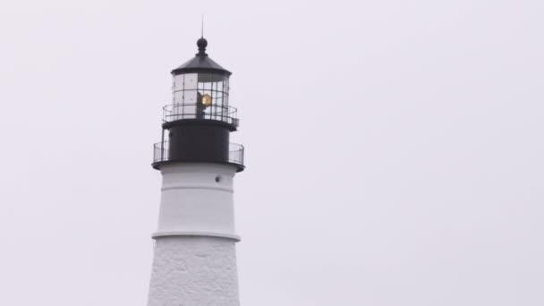 Lucerna pokoj Head Light Portlandu v Maine