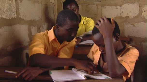 Africké děti, čtení