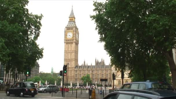 Hodinová věž big ben v Londýně v Anglii.