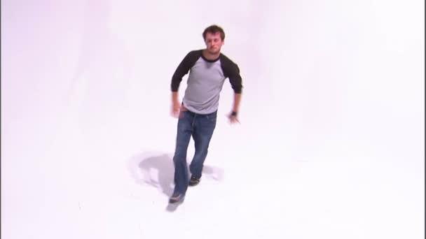 Männlicher Breakdance