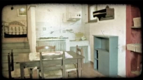 Olasz házi. Vintage stilizált videoklip.
