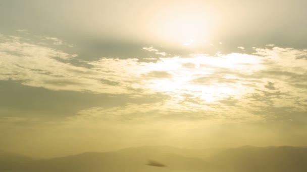Panorama Dawn v mrtvé moře v Izraeli