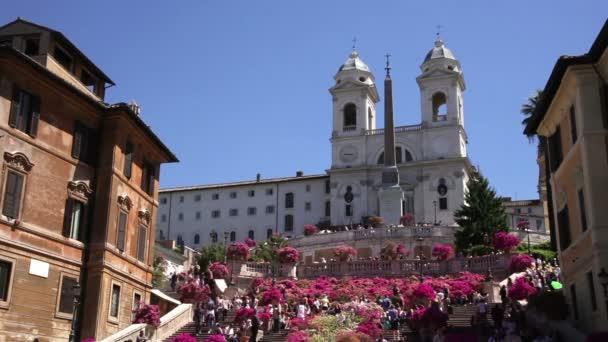 Trinita dei Monti a Španělské schody