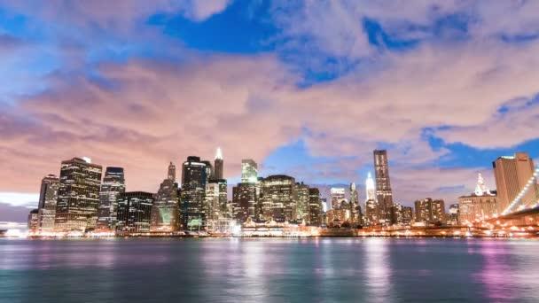 New york city a Brooklynský most