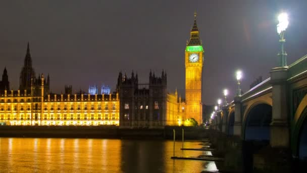 Big Ben with river in London