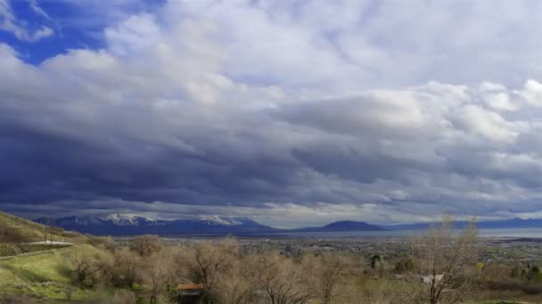 Afternoon cloudscape over Utah Valley.