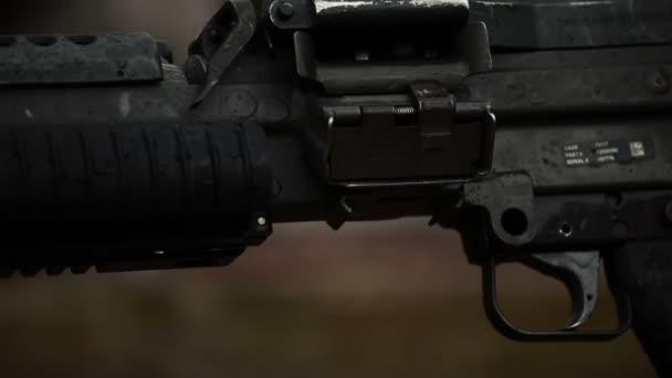 Maschinengewehrfeuer