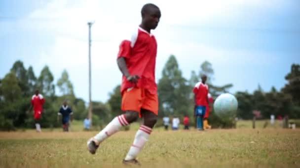 Kenyan football/soccer game between two teams