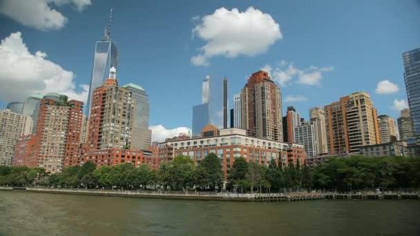 Pohled z mrakodrapů v New Yorku