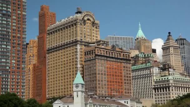 Blick auf die Wolkenkratzer in New York