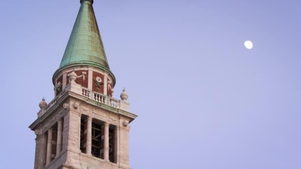 zvonice kostela San Giorgio Maggiore.