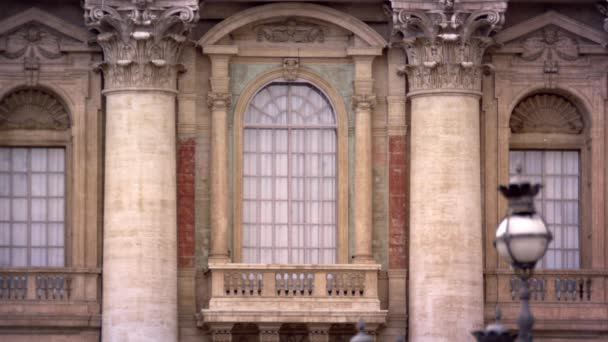 balcony at the St. Peters basilica