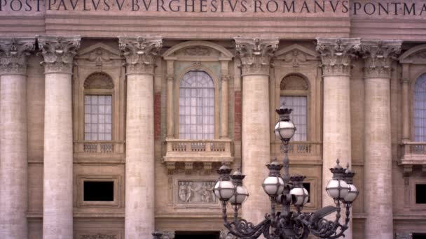 St. Peters basilicia balcony