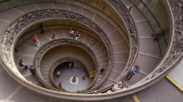 large spiral staircase in the Vatican Museum