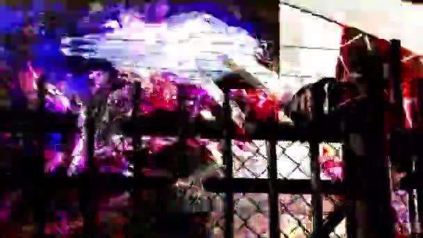 transparentní lebky na plot pozadí.