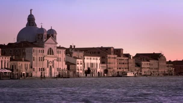Posouvání záběr Baur Palladio Hotel a Piazza San Marco