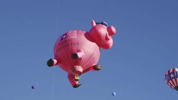 horkovzdušné balóny v Utahu
