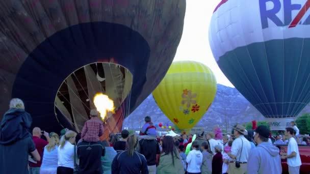 hot air balloons in Utah