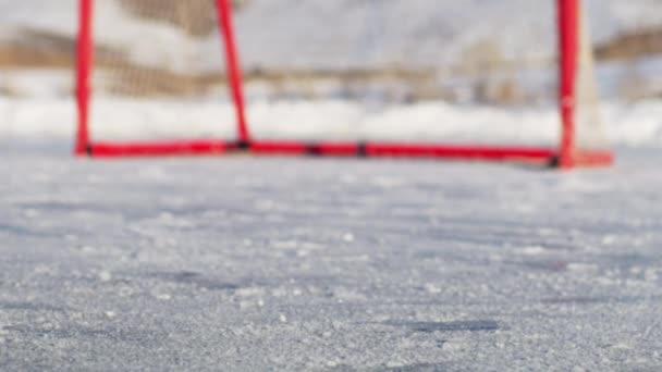 venkovní kluziště, hokej čisté a brusle