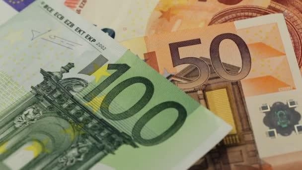 Evropská bankovky, měnu Euro z Evropy, euro.