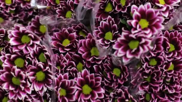 A sok szép virág csokrok.