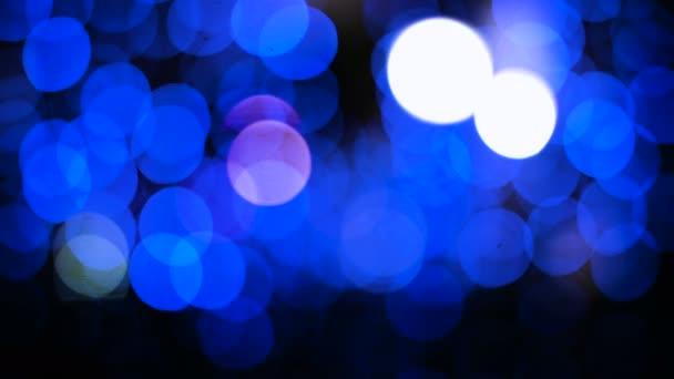 Slavnostní modré bokeh, ideální pro rekreační pozadí