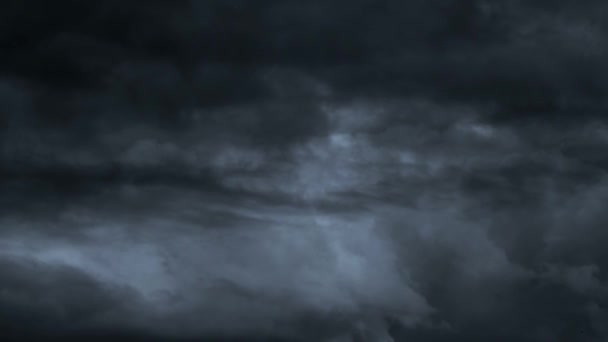 animated motion background features dark slowly moving storm clouds