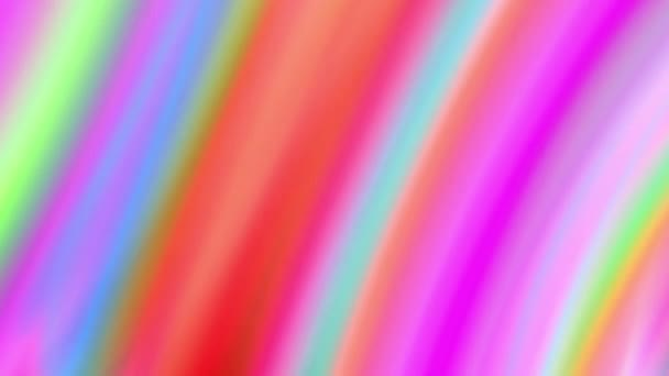 seamless looping motion background features colorful lines pattern