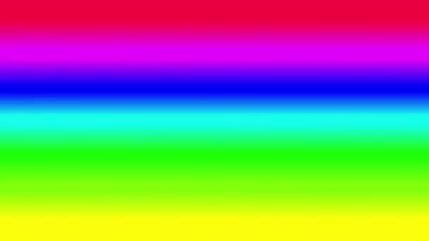 seamless looping motion background features a colorful rainbow background