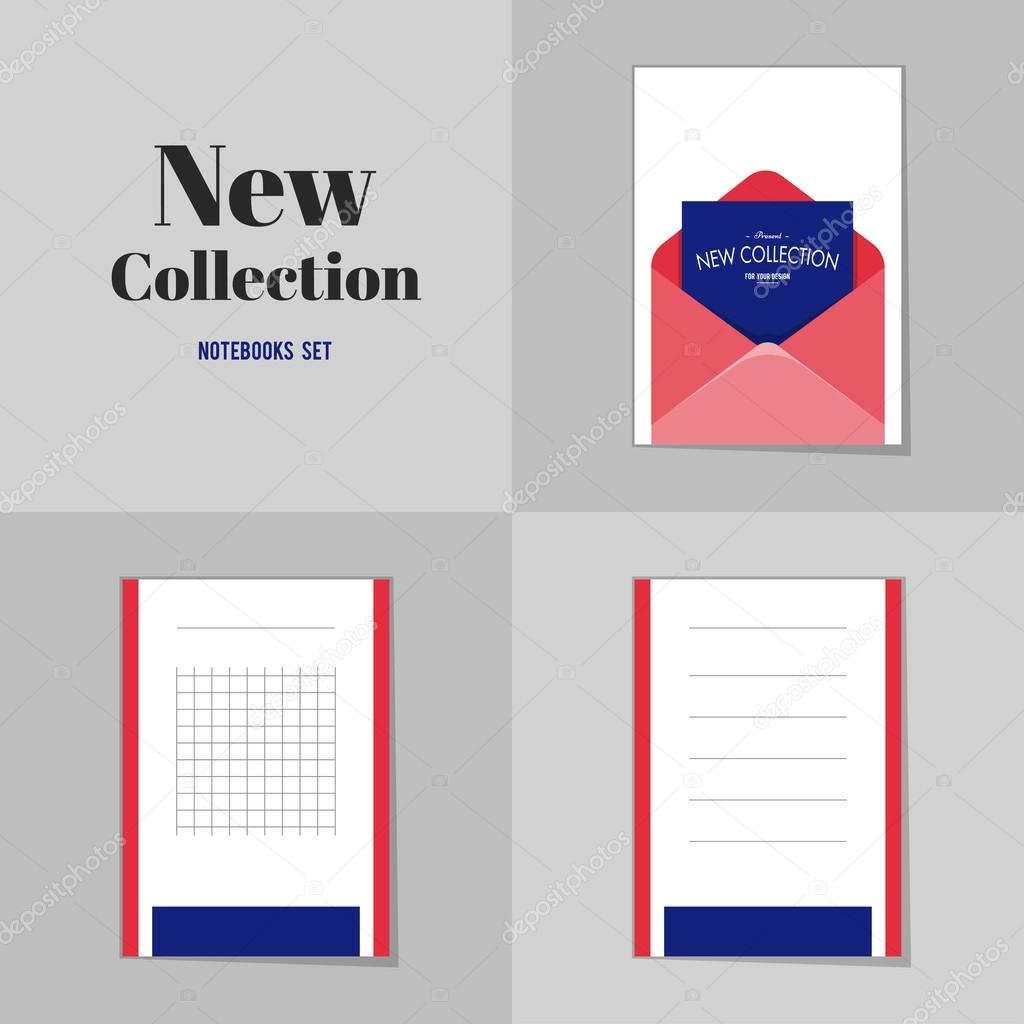 Collection New collection Blank Envelope notebooks, stickers, labels ...