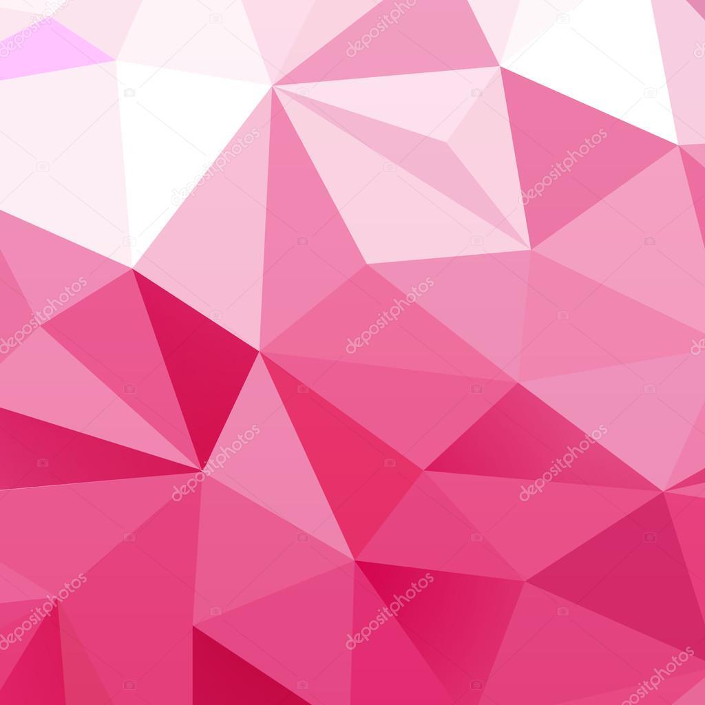 Sfondo Rosa Triangolare Con Leggera Sfumatura Di Bianco