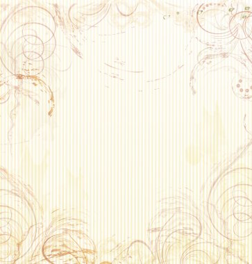 Abstract beige background in vintage, grunge, retro style. vector clip art vector