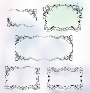 Frame set in luxury style