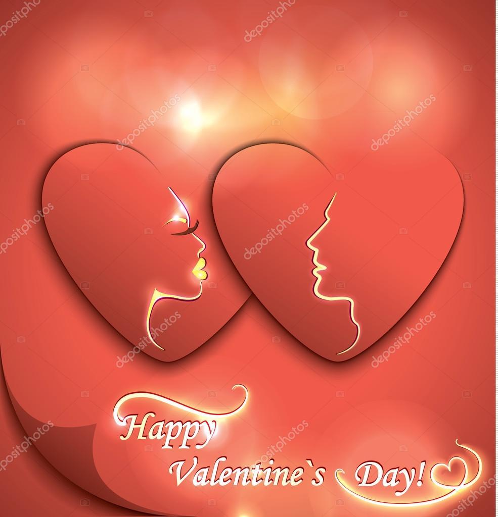 valentine day decorative card