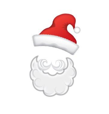 Cartoon Santa Claus mask