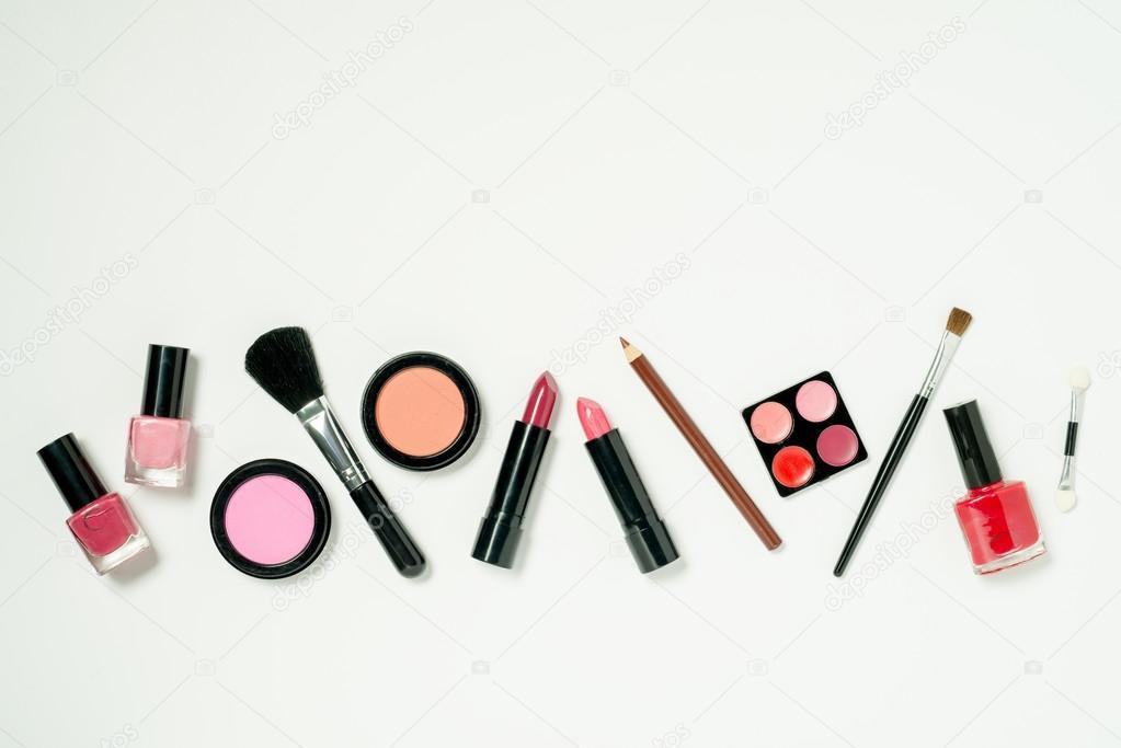 Wiersz A Kosmetyki Zdjęcie Stockowe Stock