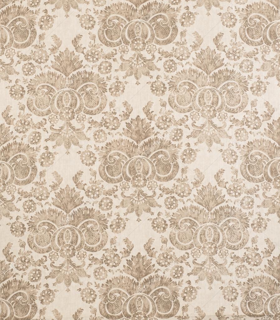 depositphotos 107606442 stock photo brown vintage pattern wallpaper swatch - Muster Tapete Vintage
