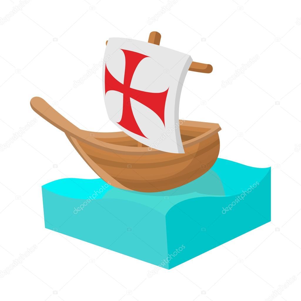 Fotos Los Barcos De Cristobal Colon Icono De Barco De Colón En
